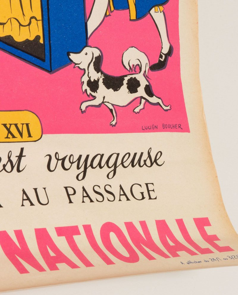 Cartel Loterie Nationale